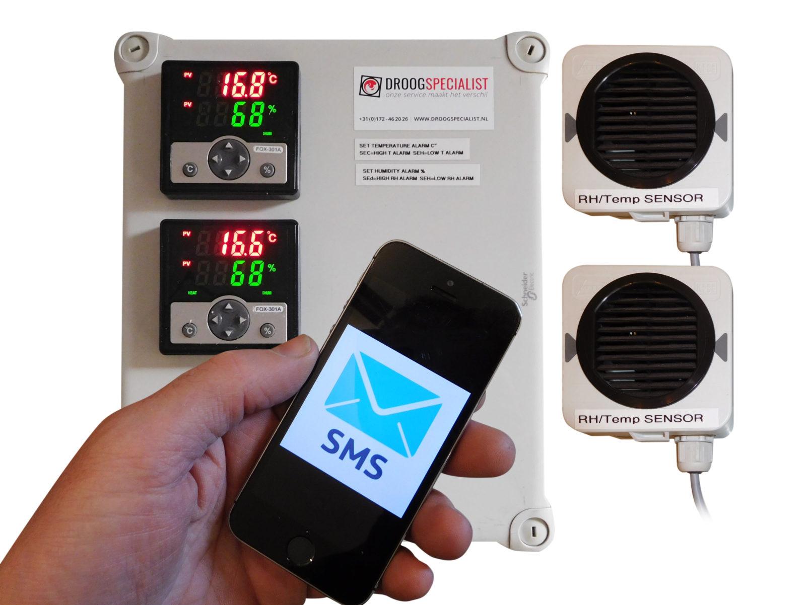 luchtvochtigheid meten monitoren