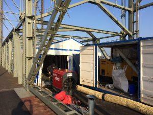 hefbrug alphen renovatie drogen
