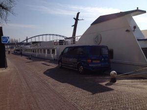 waterschade cruiseschip
