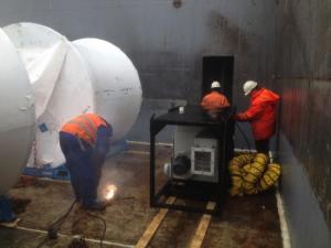 drogen lading cargo schip