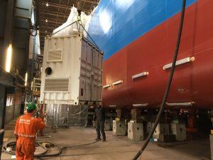 condensvorming voorkomen bij coating zeeschepen