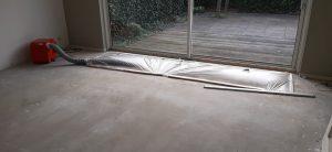 beton drogen versnellen