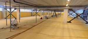 betonvloer versneld laten drogen
